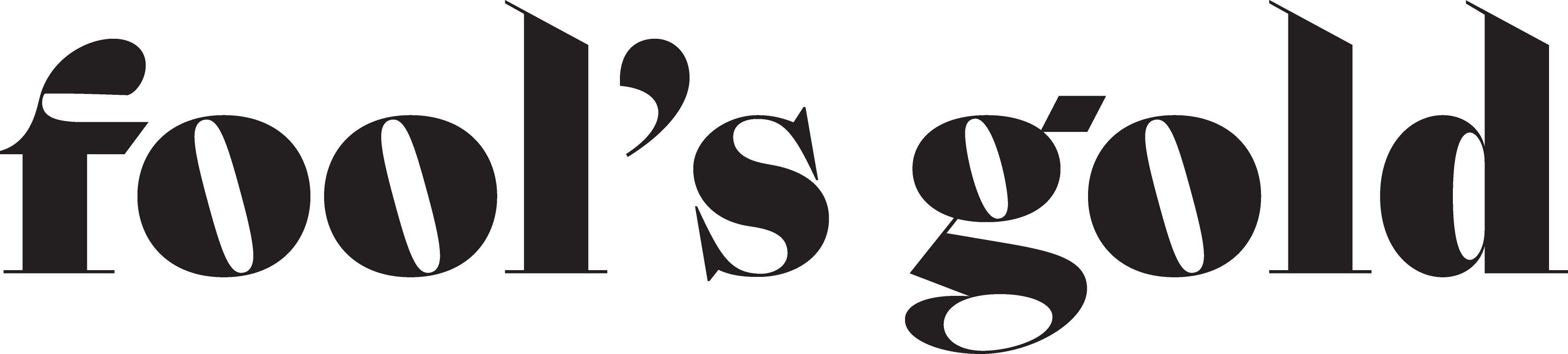 fool's gold logo - meredith christine